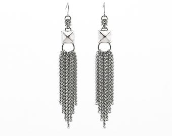 Stud Waterfall Earrings