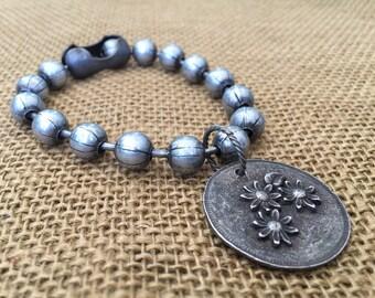 Love This Life Bracelet  Ball Chain Bracelet