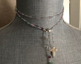 Versatile beaded necklace
