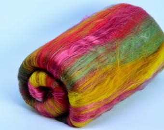 Art Batt for Spinning or Felting
