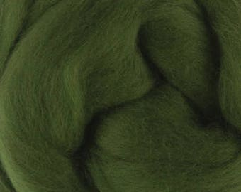 Merino Wool Roving / Combed Top / in DHG Ivy