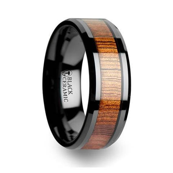 like this item - Black Mens Wedding Rings