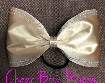 Gold Cheer Bow - No Tails