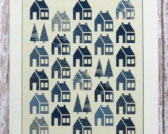 Blue Barn Quilt Pattern - Edyta Sitar - Laundry Basket Quilts - LBQ-0571-P