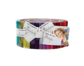 """Grunge Hits the Spot - BasicGrey - Moda - 40 Pieces - 2.5"""" Strips - Jelly Roll - 30149JR"""