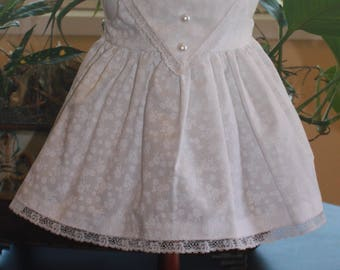 RESERVED American Girl Style Edwardian Pinafore