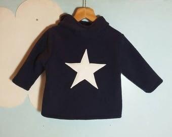 Star folky fleece