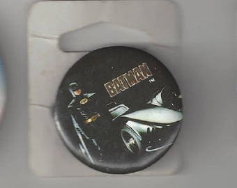 Batman Batmobile Pinback Button