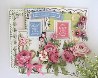 Anna Griffin Pretty Paintings Card Kit P2
