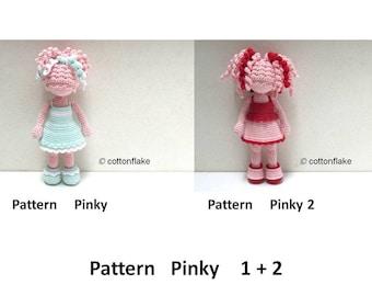 Amigurumi Human Body : Pattern C Color doll amigurumi crochet human body