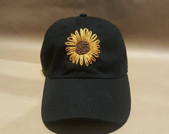 Simple Sunflower Hat