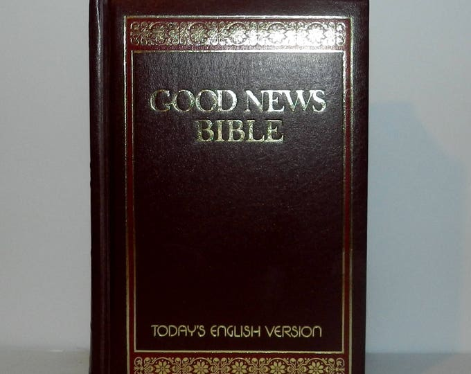 The Good News Bible, 1976, Todays English Version, Thomas Nelson Inc. Imitation Leather – 1976