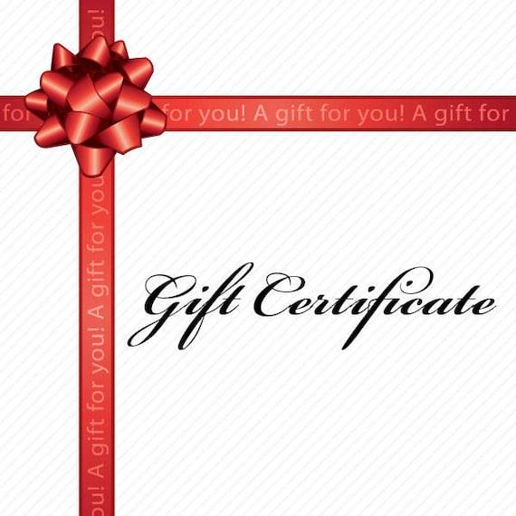 Gift Certificate - Bit of Bling Equestrian