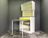 Awesome Retro Kitchen Larder With Extending Table  Vintage Cupboard Cabinet