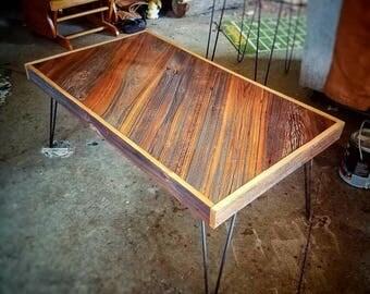 Real barnwood table