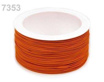 3 m elastic round 1.2 mm orange 7353