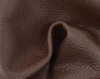 "NZ Deer Sale Java Cupcake Leather New Zealand Deer Hide 8"" x 10"" Project Piece 2 1/2 ounces TA-56480 (Sec. 4,Shelf 6,C)"