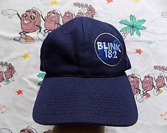 Vintage 90's Blink 182 snapback Hat, Adult Size pop punk Loser Kids