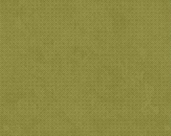 Criss-Cross Texture Green Wilimington Essentials - Fabric by the Yard