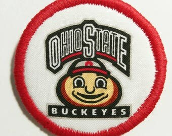 Ohio State Buckeye Football Logo Badges Pins Buttons Patches - set of 4
