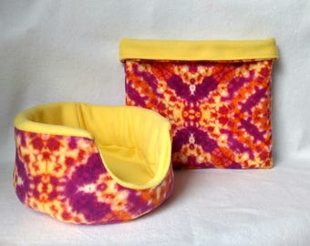 Sunset cuddle and bag set