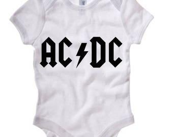 AC/DC Onesie 0100