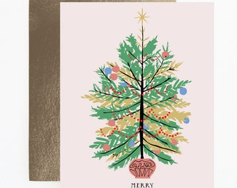 Oh Christmas Tree Holiday Card