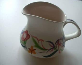 Vintage Poole pottery jug