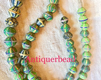 Venetian antique Africa trade beads Mix colors antique king beads
