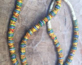 Venetian millefiori trade beads Africa old trade beads