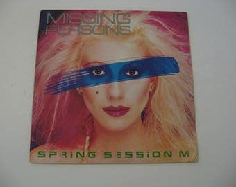 Missing Persons - Spring Session M - Circa 1982