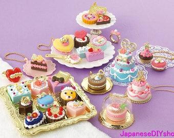 """Japanese DIY Whipple """"Sweets Accessory Petit Gateau EX"""" Fake Sweets Making Kit"""