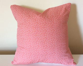 Coral Cushion Cover Pillow Cover 16 Inch Handmade Cotton Pillow