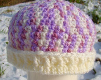 Beanie hat with Brim - Newborn