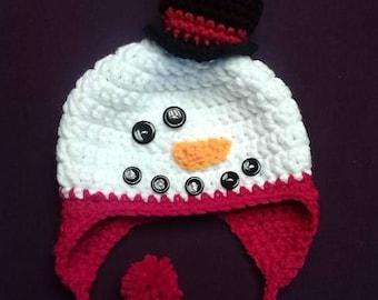Clearance Snowman Hat