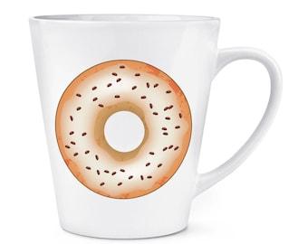 Coffee Glazed Doughnut Donut 12oz Latte Mug Cup