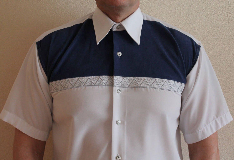 Versace Shirt Classic Mens Shirt White Silk Shirt Button