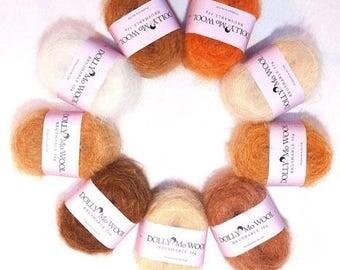 DollyMo Brushable Wool