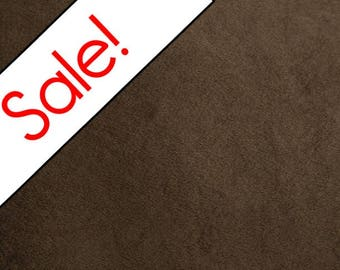 SALE  Brown Minky Fabric, Shannon Fabrics, per Yard