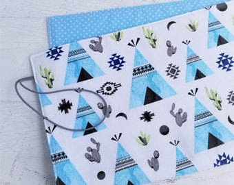 Travel Changing Pad | Tribal Baby Boy Shower Gift | Portable Changing Pad | Diaper Changing Mat | Baby Changing Pad | Diaper Bag Accessories