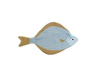 SMALL HALIBUT (Halibut)-Fish case