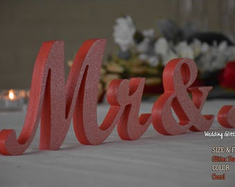 wedding sign mr & mrs, mr and mrs sign, mr and mrs wall decor, mr and mrs table sign, mr and mrs wedding gift