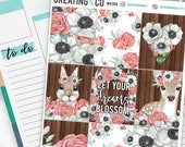 Blossom Weekly Planner Kit for No-White Space and White Space Planners  - WK11
