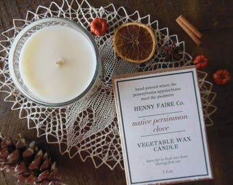 seasonal candles | fall candles, holiday candles, fall decor | natural soy candle | choose your fragrance