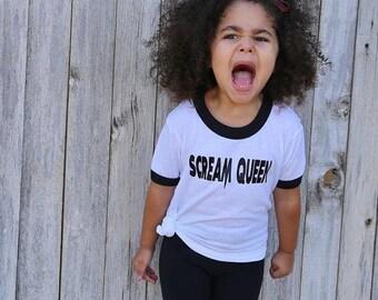 Toddler Scream Queen Tees