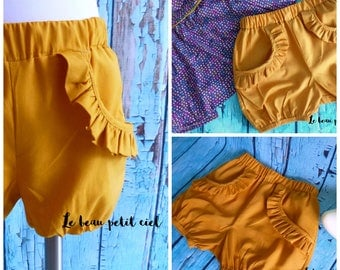 Bloomers / baby shorts pockets