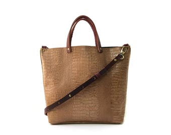 Midi Market Top Handle Tote Bag