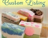 Custom Listing - Reserved for Erin