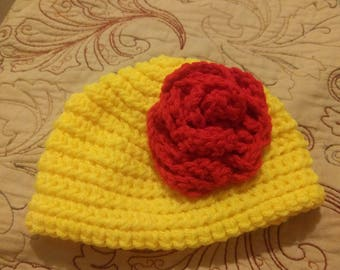 Seamless Baby Hat