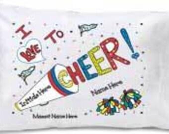 Cheer Pillowcase- Travel Size